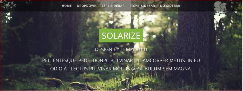 Solarize Template