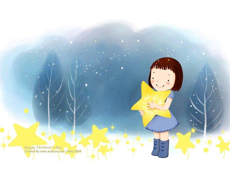 Star Girl Wallpaper