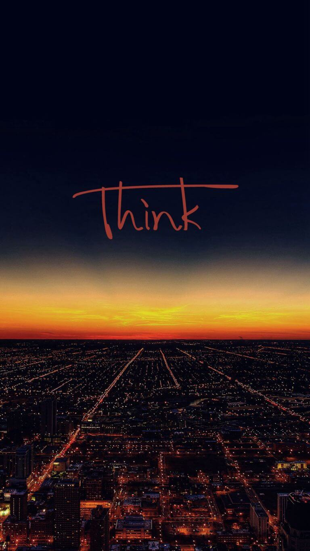 Think Wallpaper