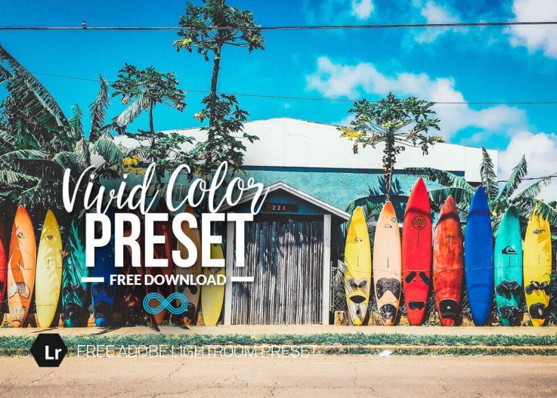 Vivid Color Preset