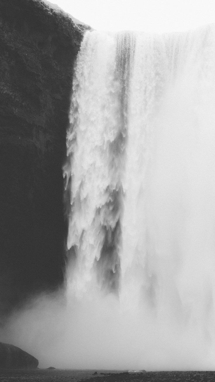 Waterfall Wallpaper for iPhone 6,7