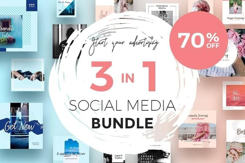 3 in 1 Social Media Bundle