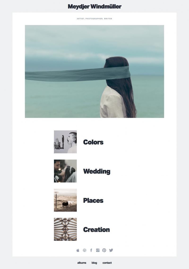 Avamia Artistic Photography Theme