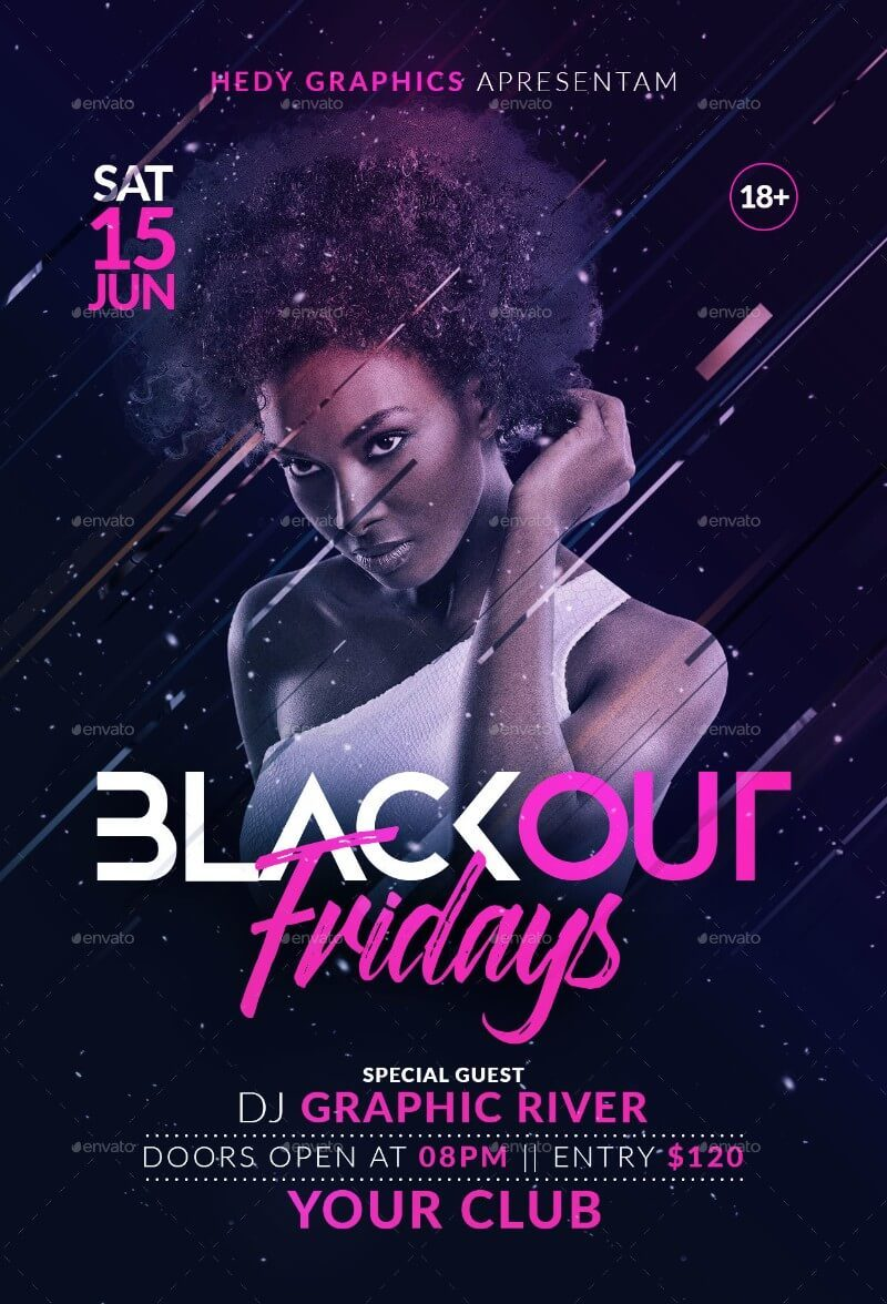 Blackout Flyer