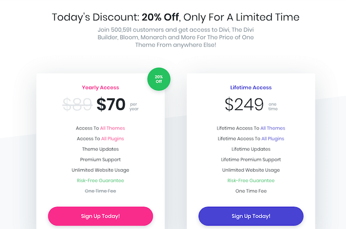 ElegantThemes Discount Coupon