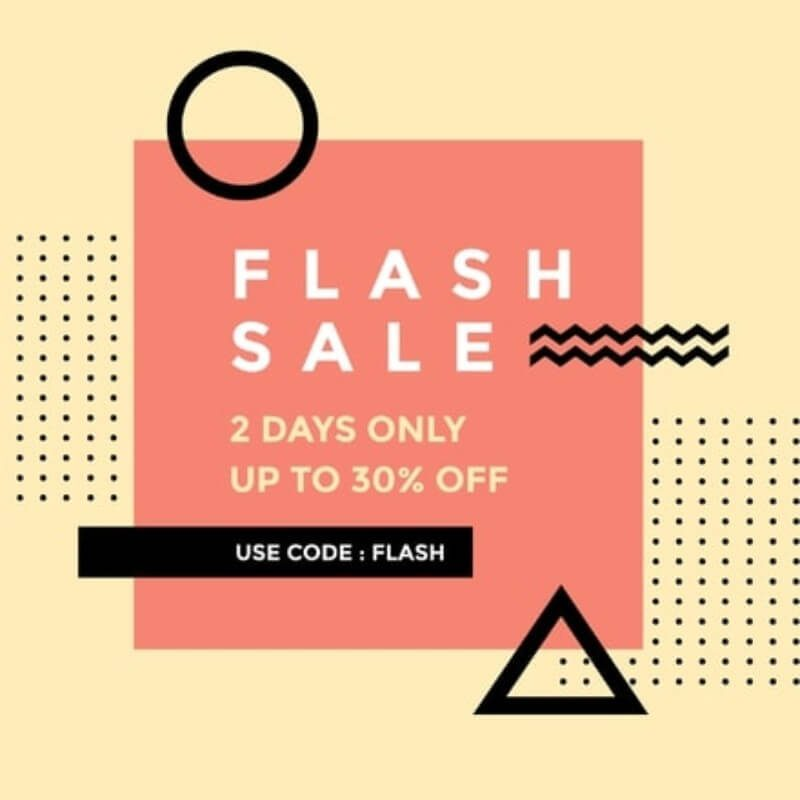 Flash Sale Template