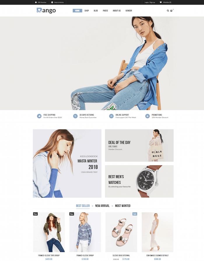 Rango WordPress Theme