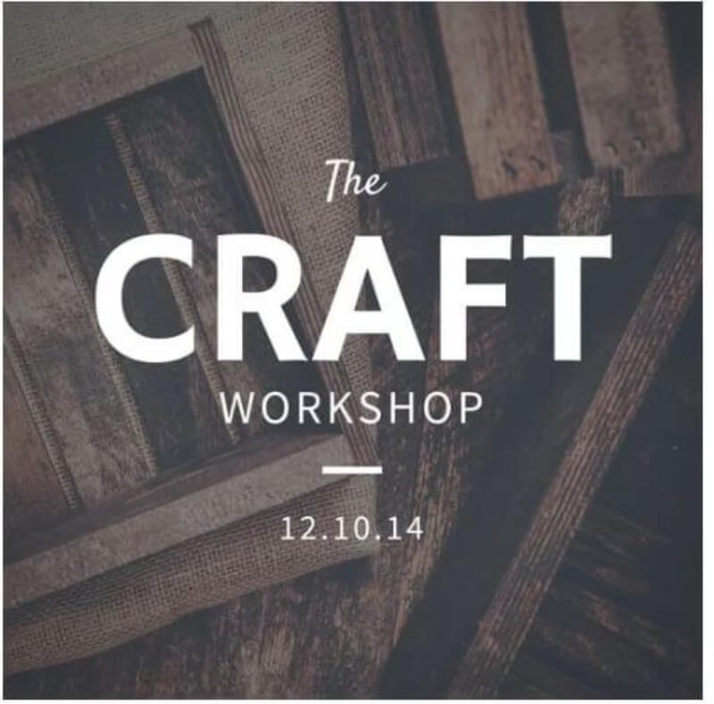 The Craft Workshop