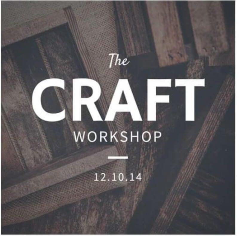The Craft Workshop