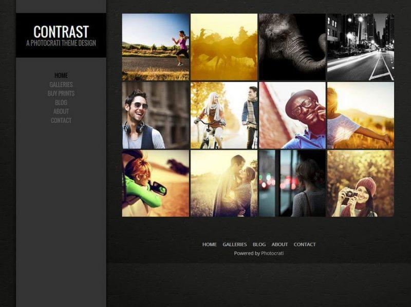 CONTRAST Elite Photography & Portfolio WP Theme