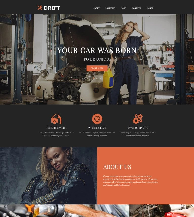 Drift WordPress Theme