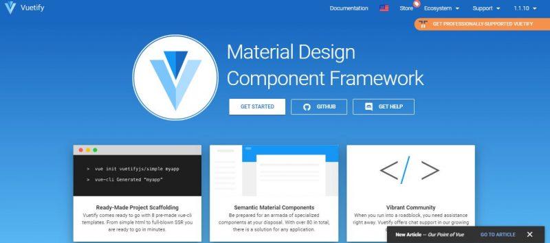 Veutify Framework