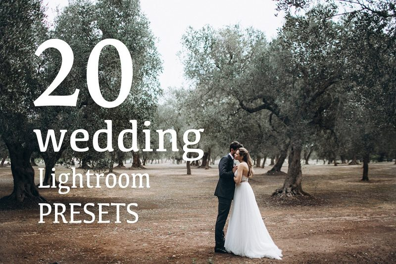 20 Wedding Lightroom Presets