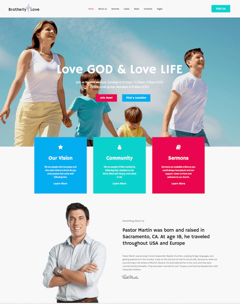 BrotherlyLove WordPress Theme