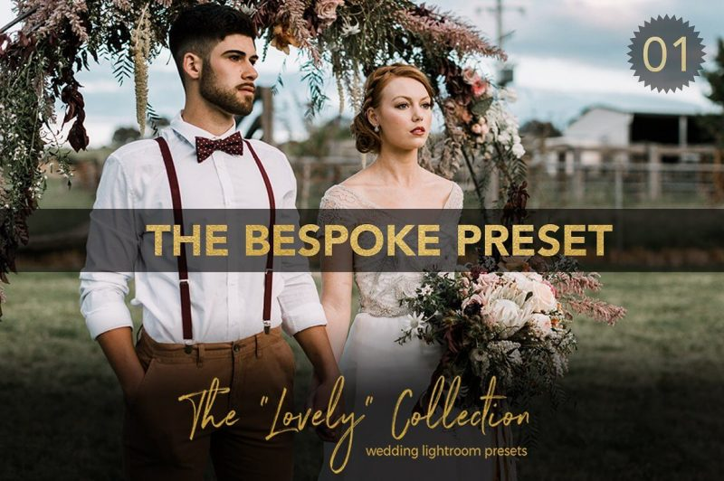 Bespoke Wedding Lightroom Preset
