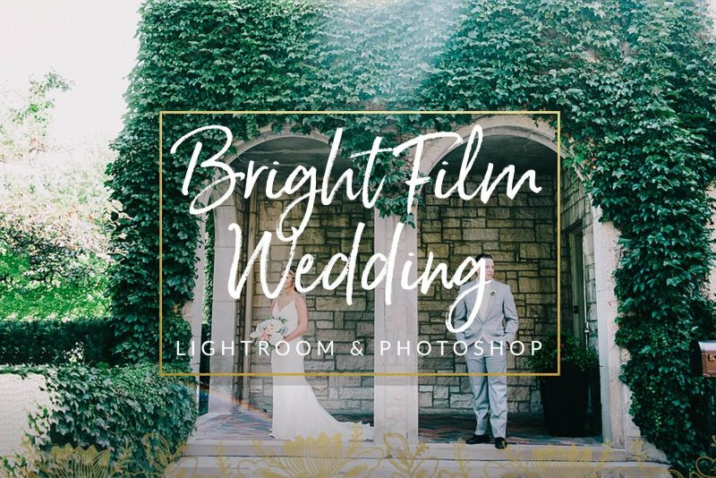 Bright Film Wedding Presets