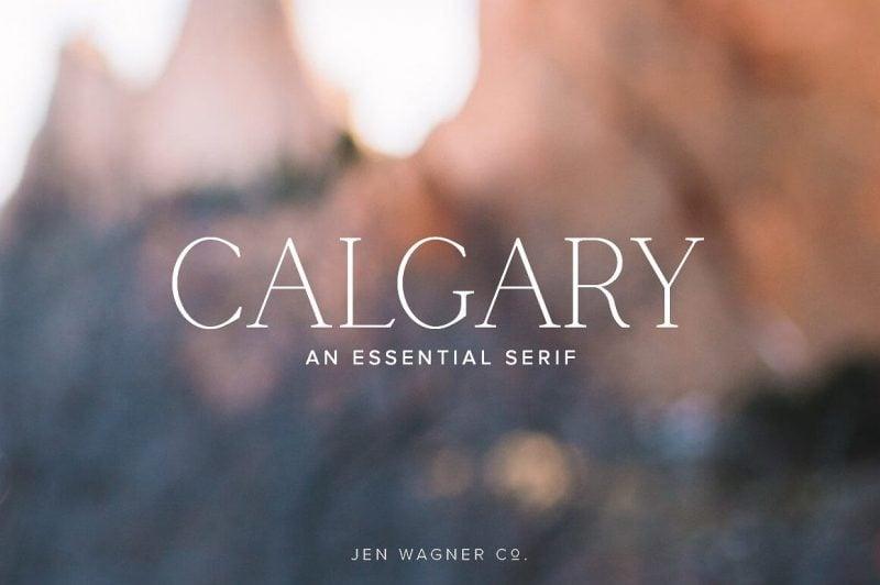 Calgary Font
