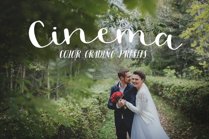 Cinema Color Grading Presets