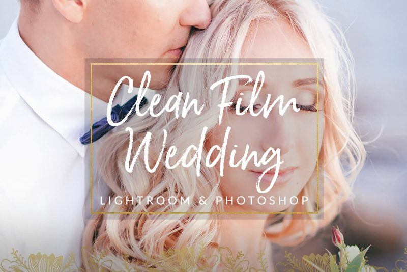 Clean Film Wedding Lightroom Presets