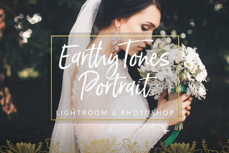 Earthy Toned Wedding Preset