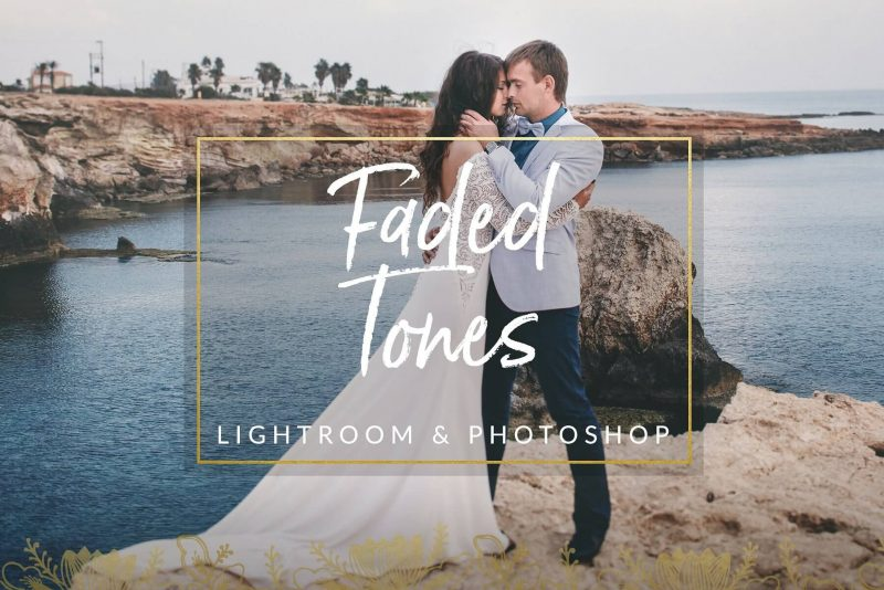 Faded Tones Wedding Presets