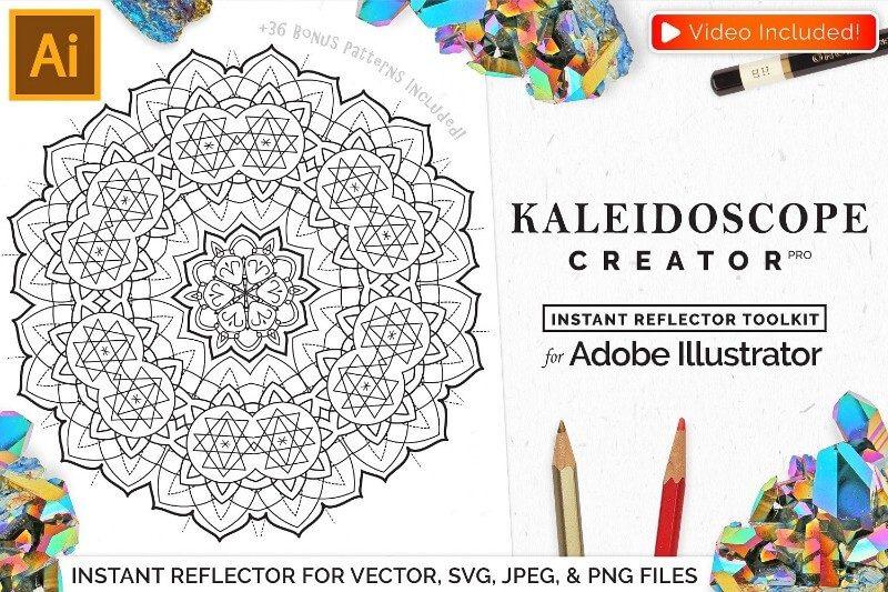 Kaleidoscope Creator Pro