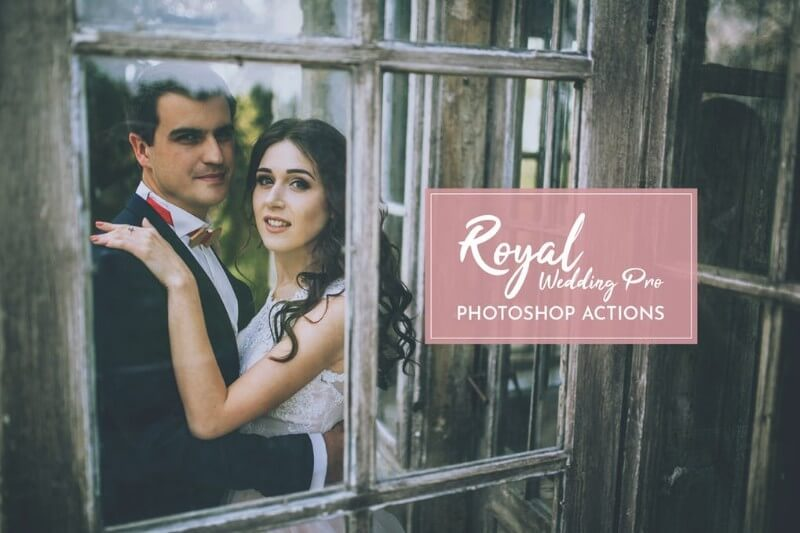 Royal Wedding Pro Photoshop Action