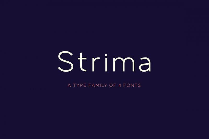 Strima Font