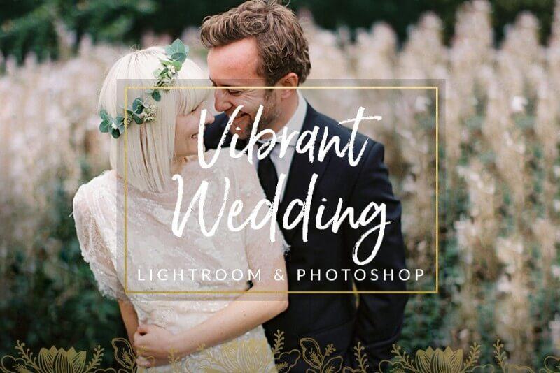 Vibrant wedding Presets