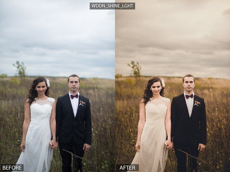 Warm Wedding Preset