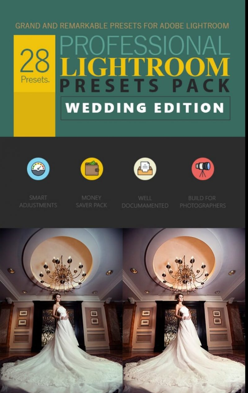 Wedding Professional Lightroom presets