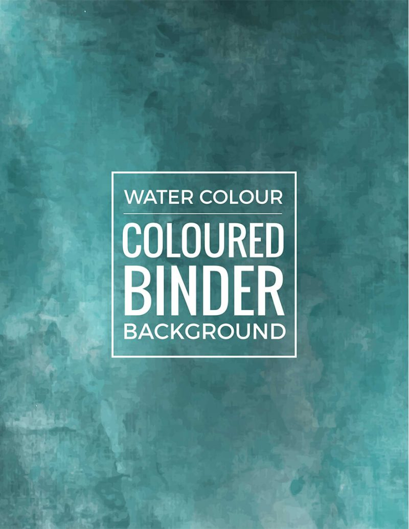 Coloring-Page-Binder-Cover-Template