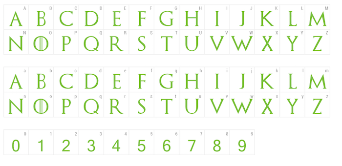 Free Font Game of Thrones