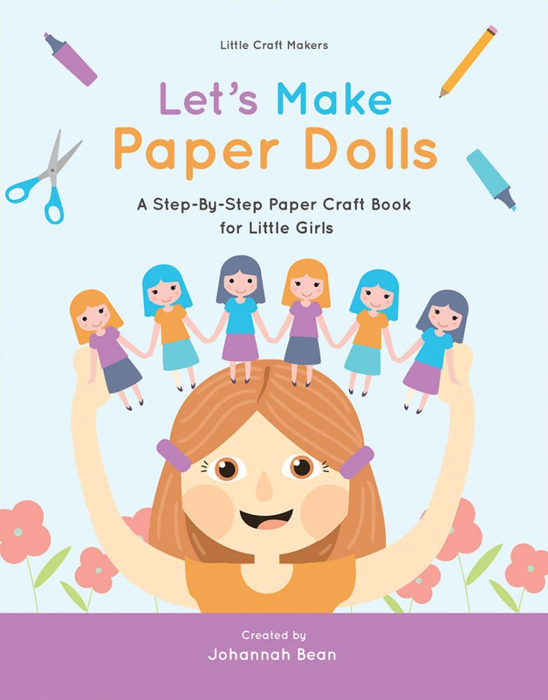 Paper-Craft-Book-Cover-Template
