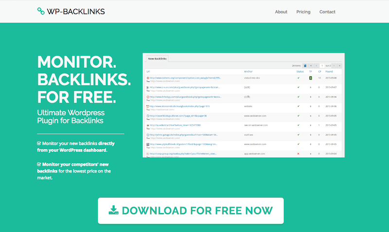 Wordpress Plugin for Backlinks