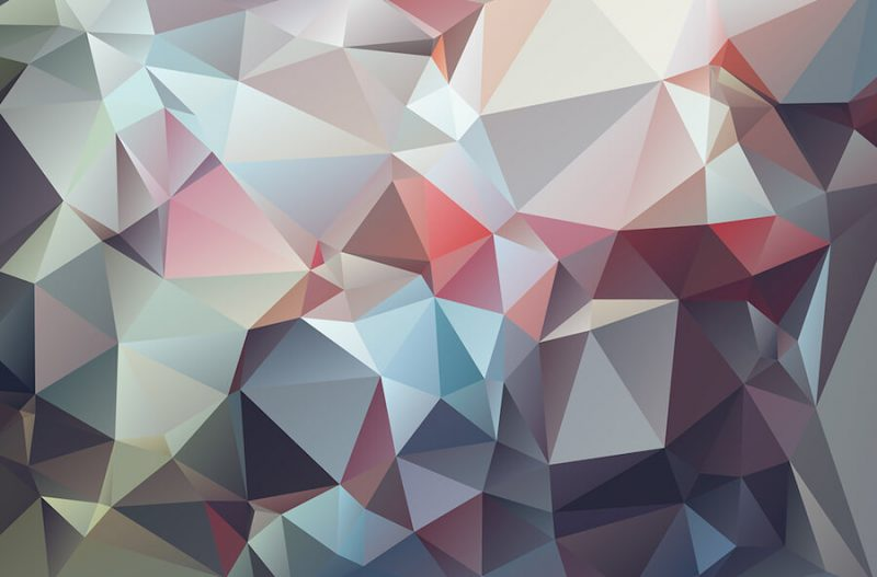 High-Res Geometric Backgrounds