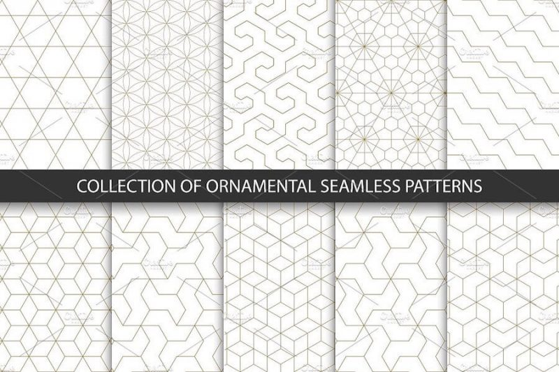 Seamless Geometric Ornamental Patterns